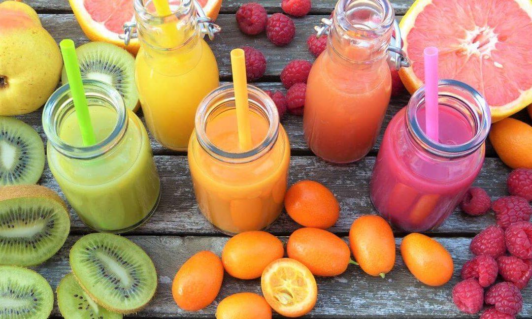 Zöldség és gyümölcslevek