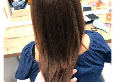 Hosszú haj festése