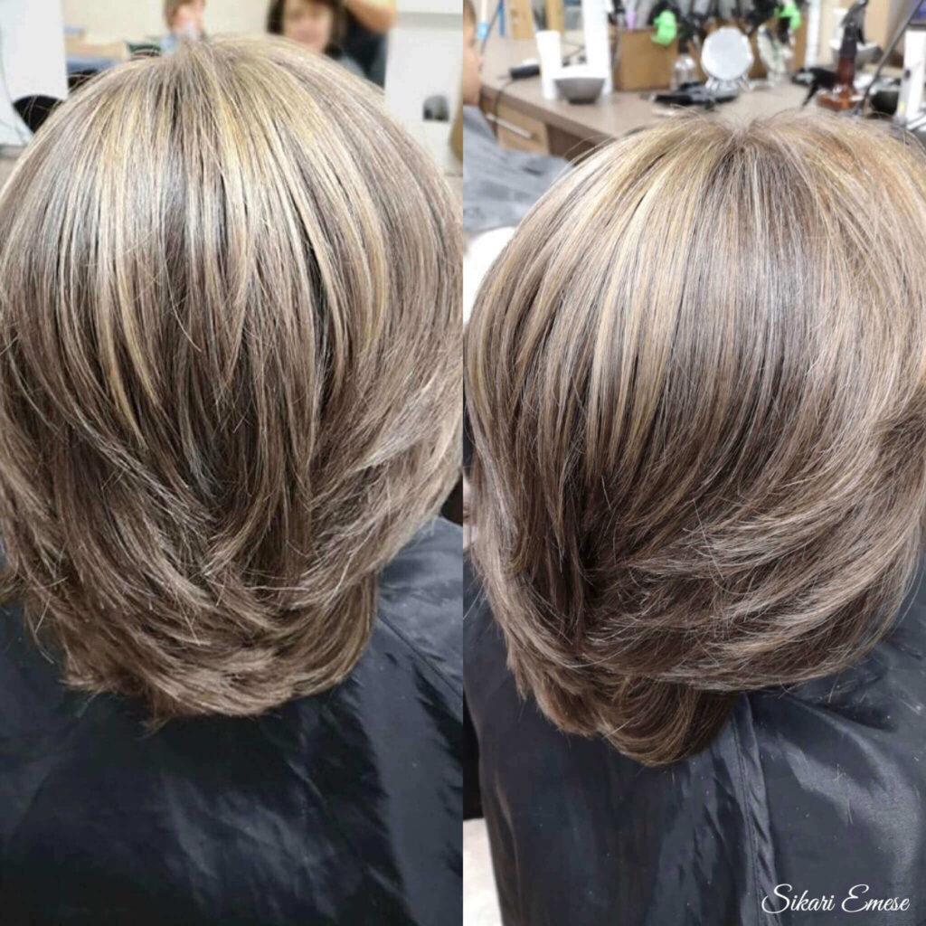 Női hajfestés a 17. kerületben