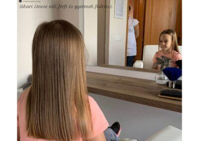 Gyermek hajvágás