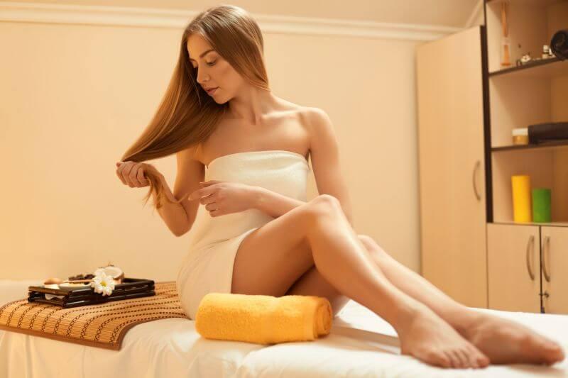 Töredezett haj elleni kezelés