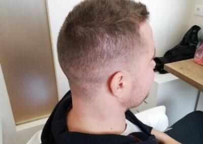 férfi hajvágás 17. kerületben