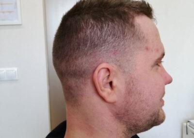 férfi hajvágás XVII. kerület