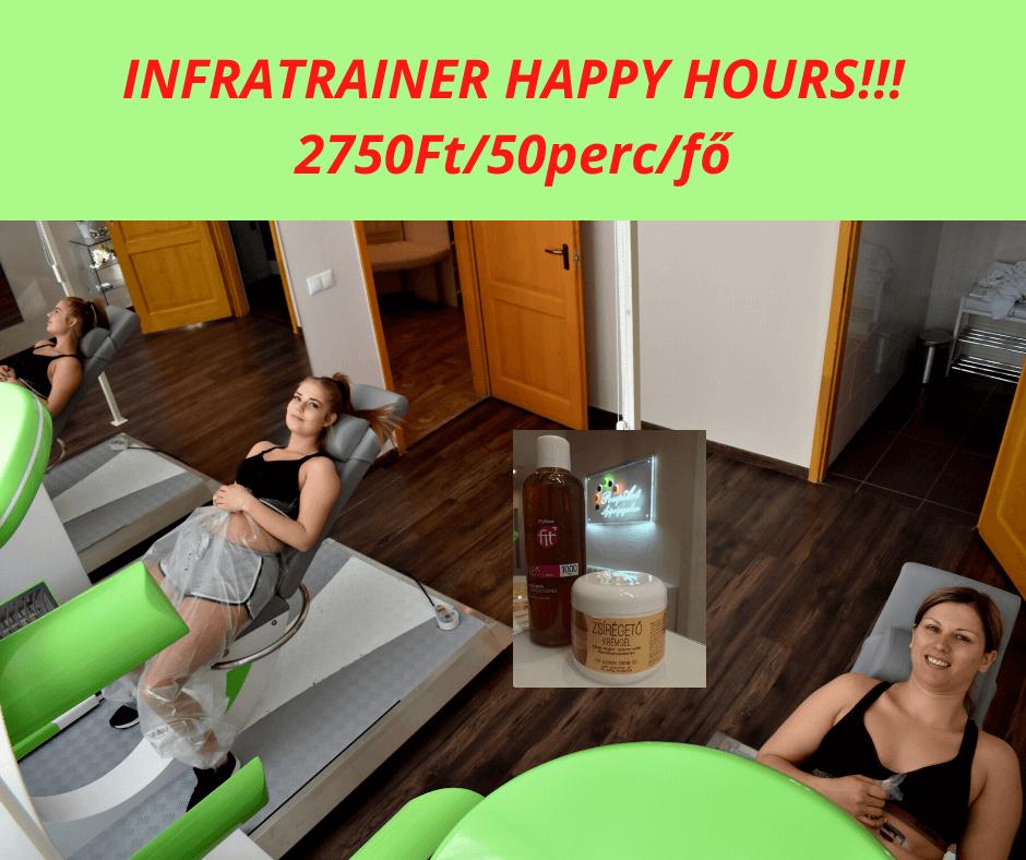 InfraTrainer happy hours akció