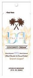 Double Dark Coconut cream 400X 22ml szolárium krém